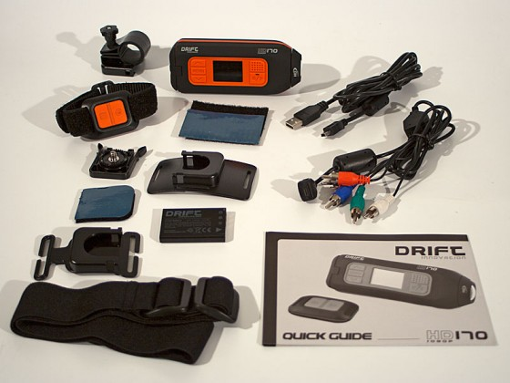 Drift HD170 Action Camera Kit