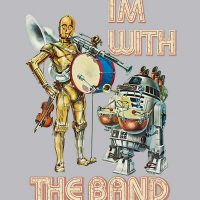 Droid Band Ladies Tee