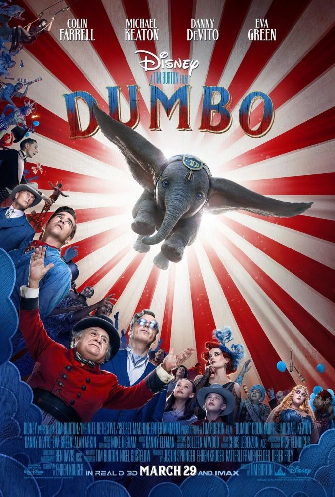 Dumbo 2019 Movie Poster