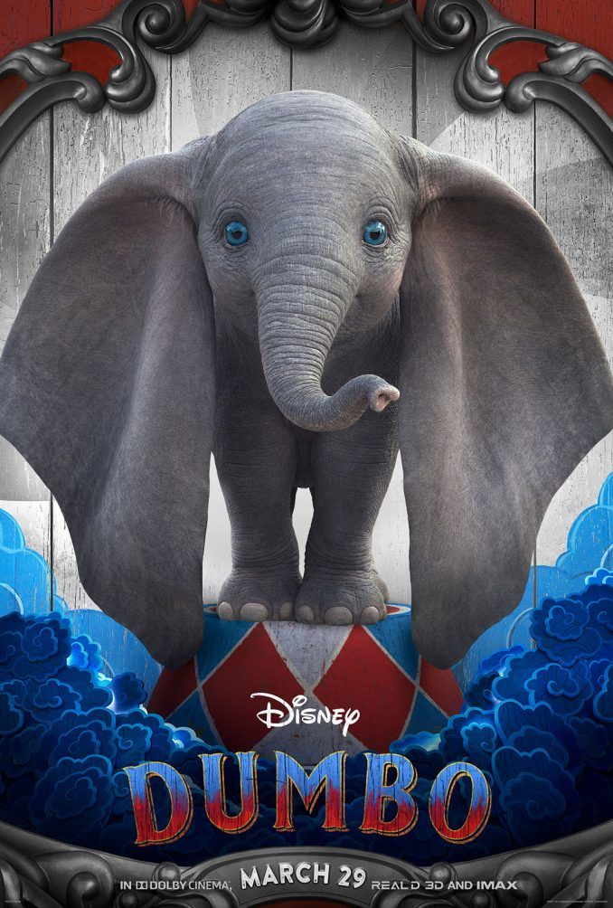 Aladdin Movie Poster Dumbo Sneak Peek