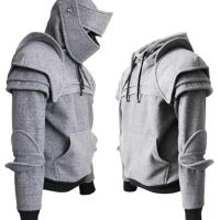 Duncan Armored Knight Costume Hoodie