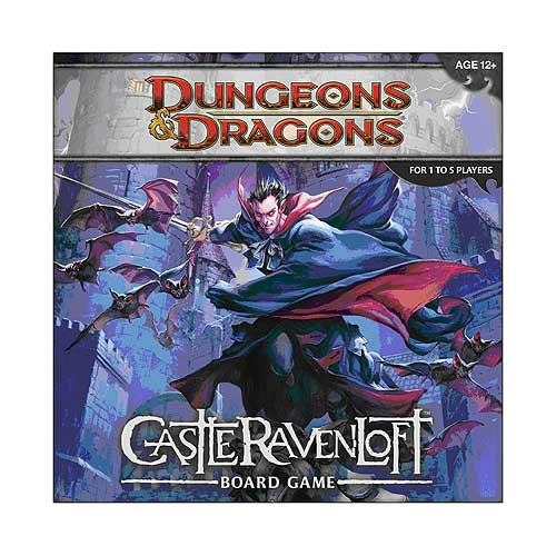 Dungeons & Dragons Castle Ravenloft Board Game
