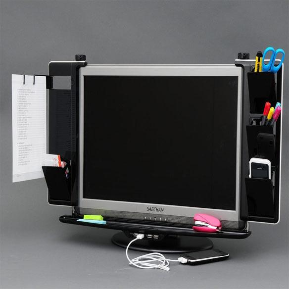 Dyne LCD Monitor Organizer with USB Hub