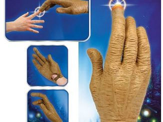 E.T. Hand with Light-Up Finger Prop Replica