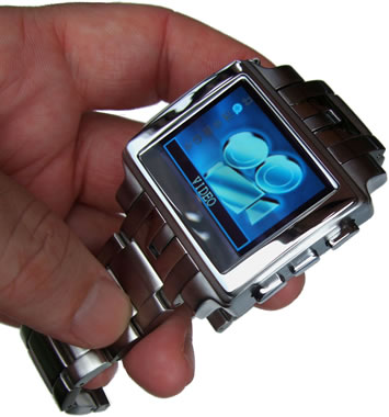 Epoq Stainless Steel Multimedia Watch