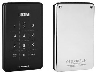 "EZSAVE Lockdown USB 3.0 2.5"" HDD Enclosure"