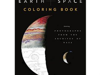Earth and Space Adult Coloring Book