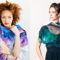 Earth and Space Scarves