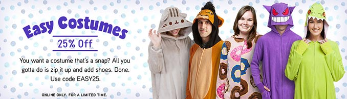 Easy Costumes At ThinkGeek Promo Code