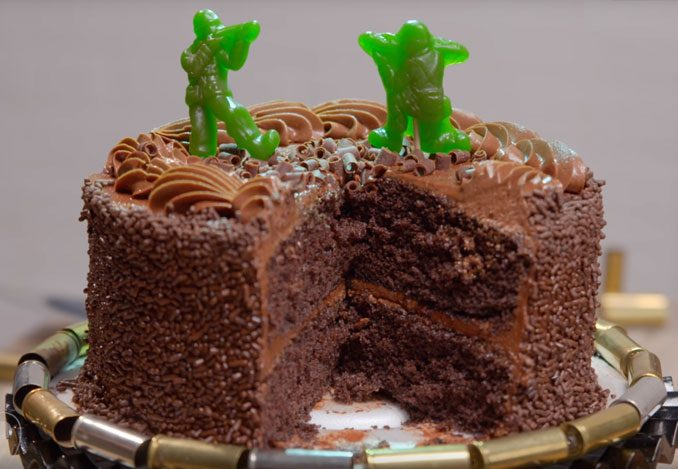 Edible Green Army Men Figures