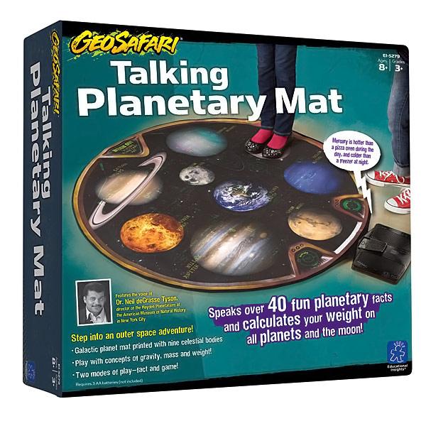 Educational Talking Planetary Mat