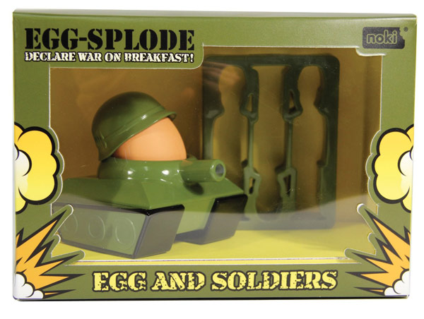 Egg Splode Egg Cup and Soldier Cutter