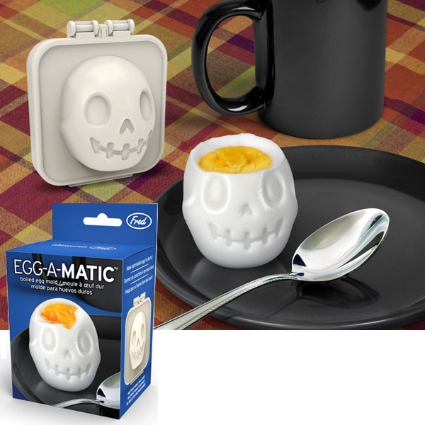 Eggamatic Skull Egg Mold