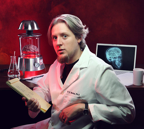 Einstein Brain Desk Lamp