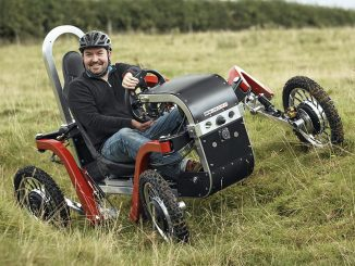 Electric All Terrain Pendular Quadricycle