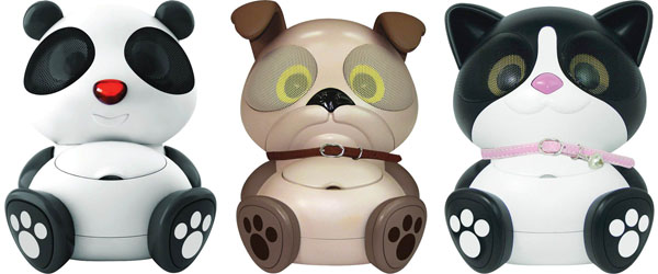 Electric Friends Animal Themed Speakers