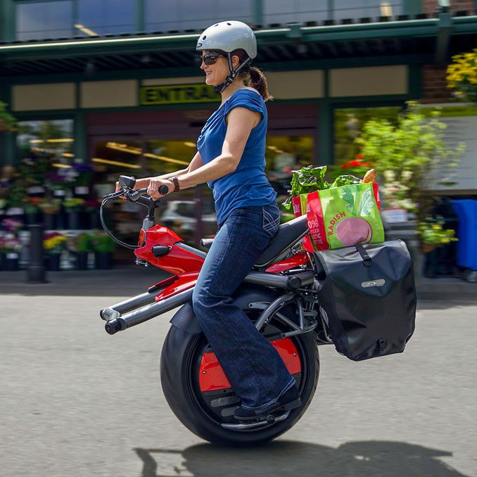 Electric Motorized Gyro Cycle