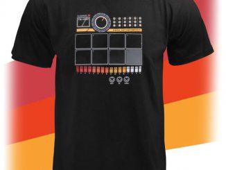 Electronic 9 Drum Machine Shirt