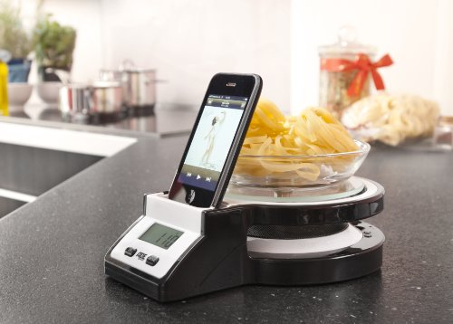 Electronic Kitchen Scale with iPod Station