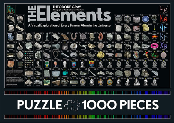 The Elements Puzzle Geekalerts