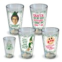 Elf Quotes Pint Glass 4 Pack