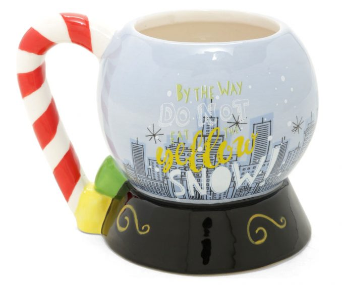 Elf Snow Globe Coffee Mug