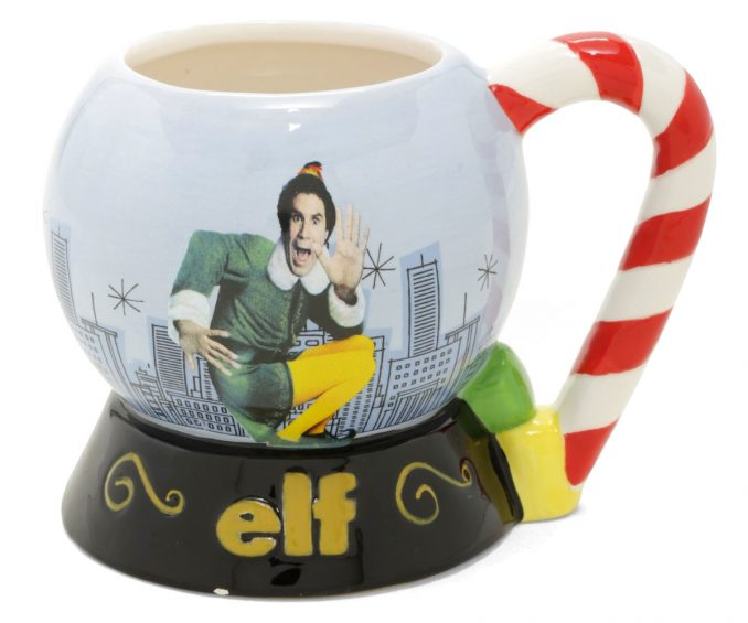 Elf Snow Globe Mug