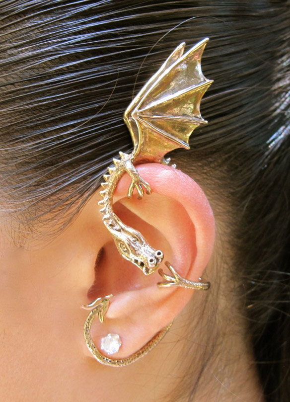 Elfin Dragon Ear Wrap