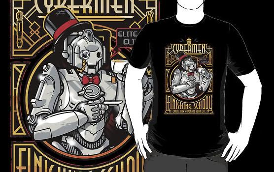 Doctor Who Elite Cybermen Shirt