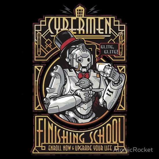 Elite Elite Cybermen TShirt