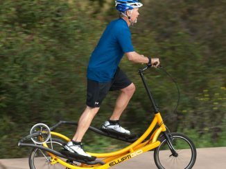 ElliptiGo - The Elliptical Bicycle