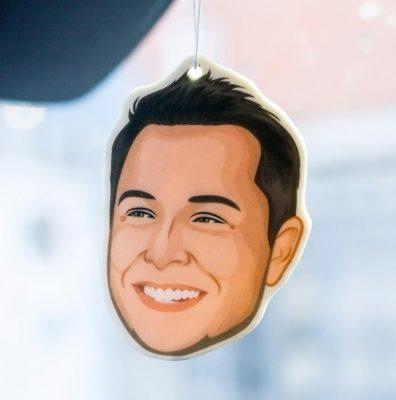 Elon Musk Air Freshener