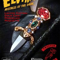 Elvira Mistress Of The Dark Statue Dagger