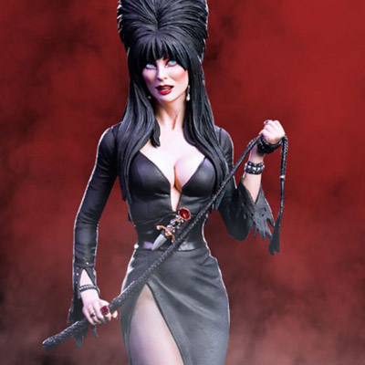 Elvira Mistress Of The Dark Statue Featured