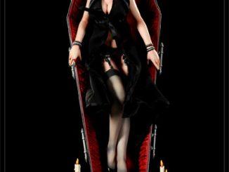Elvira in Coffin