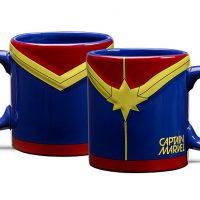 Embossed Captain Marvel Mug