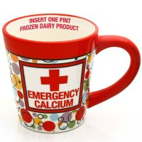 Emergency Ice Cream Pint Mug