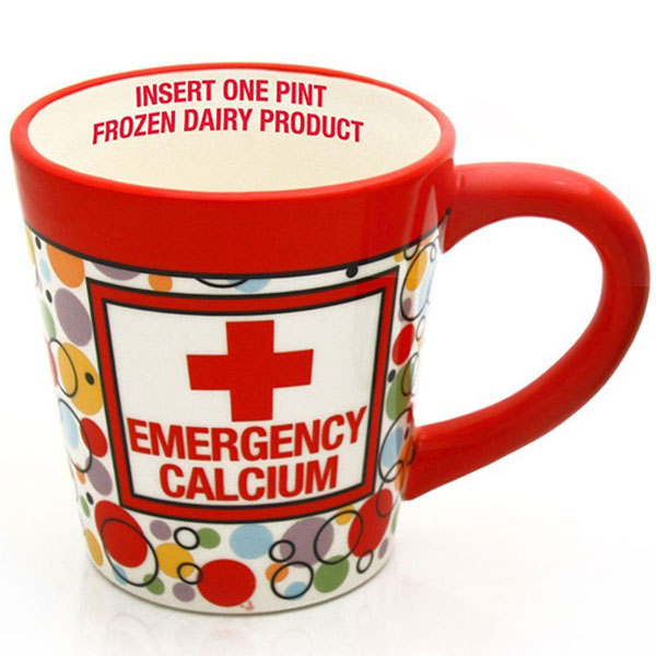 Emergency Ice Cream Pint Mug