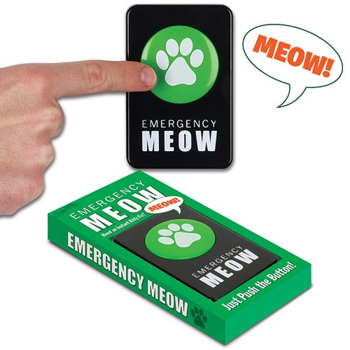 Emergency Meow Button