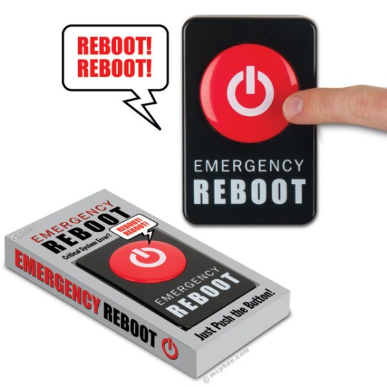 Emergency Reboot Button