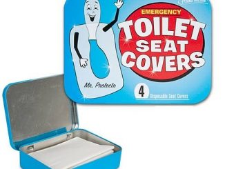 Emergency Toilet Seat Covers