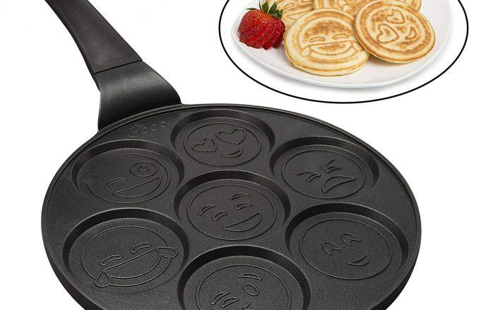 Emoji Smiley Face Pancake Pan