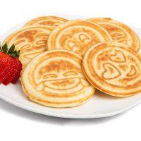 Emoji Smiley Face Pancakes