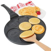 Emoji Smiley Faces Pancake Pan