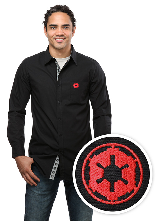 Empire Logo Button-Down Shirt