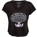Enterprise Text Scoop-Neck Ladies' Tee