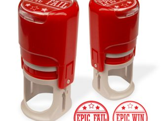Epic Win and Epic Fail Stamps