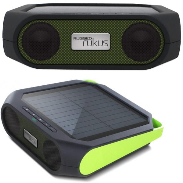 Et 243 N Rugged Rukus Solar Powered Bluetooth Speaker