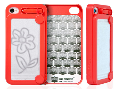 Etch A Sketch Styled iPhone Case