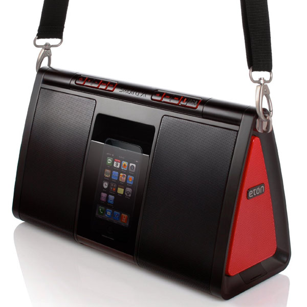 Eton NSP500B Soulra XL Sound System for iPod and iPhone